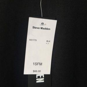 Black Steve madden cardigan